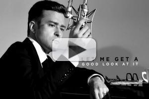 VIDEO: First Look - Lyric Video for Justin Timberlake's SUIT & TIE