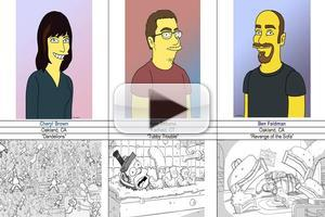 VIDEO: Fan Voting Now Open for THE SIMPSONS 'Couch Gag' Contest