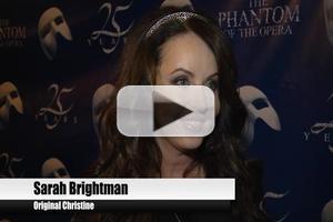 BWW TV: PHANTOM OF THE OPERA's 25th Anniversary Arrivals - Sarah Brightman and More!