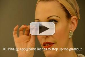 STAGE TUBE: ANYTHING GOES' Rachel York Gives 1930s Makeup Tutorial