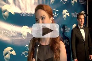 BWW TV: Inside THE PHANTOM OF THE OPERA's 25th Anniversary After Party- Sierra Boggess, Hugh Panaro, Ramin Karimloo and More!