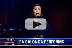 STAGE TUBE: Lea Salonga Sings EMPTY CHAIRS AT EMPTY TABLES