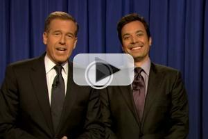 VIDEO: Brian Williams 'Slow Jams the News' on JIMMY FALLON