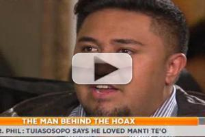 VIDEO: Mastermind Behind Manti Te'o  Hoax Speaks with DR. PHIL