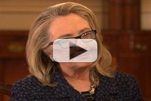 VIDEO: First Look - NBC's Andrea Mitchell Interviews Sec. Hillary Clinton