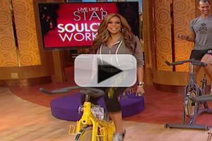 VIDEO: WENDY WILLIAMS Learns to 'SoulCycle' on Today's Show