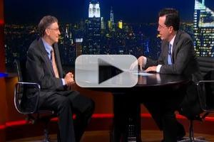 VIDEO: Bill Gates Stops By THE COLBERT REPORT