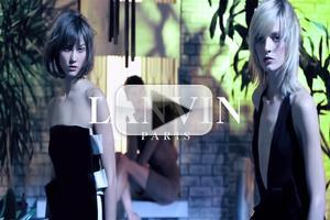 VIDEO: LANVIN SUMMER / ETE 2013 AD CAMPAIGN VIDEO