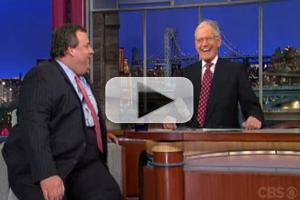 VIDEO: Sneak Peek - Gov. Christie on Tonight's LATE SHOW