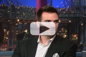 VIDEO: SUPER BOWL MVP Joe Flacoo Visits 'David Letterman'