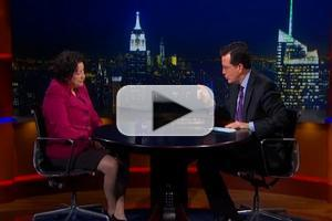 VIDEO: Supreme Court Justice Sotomayor & More on THE COLBERT REPORT