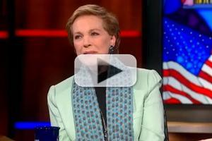 VIDEO: Julie Andrews Chats MARY POPPINS on 'The Colbert Report'