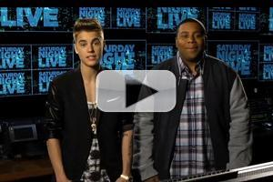 VIDEO: Justin Bieber Featured in Promo for This Week's SNL!