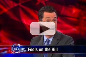 VIDEO: America Reassesses the Penny on Last Night's COLBERT REPORT