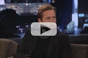 VIDEO: Ewan McGregor Hears STAR WARS News on JIMMY KIMMEL