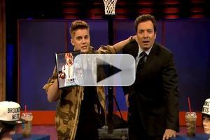 VIDEO: Justin Bieber Reveals Chuck Norris is His Dad on JIMMY FALLON