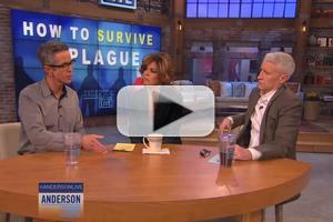 VIDEO: Peter Staley Talks HOW TO SURVIVE A PLAGUE on ANDERSON LIVE