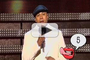 VIDEO: LL Cool J's GRAMMY Awards Lip-Smacking on Tonight's CONAN