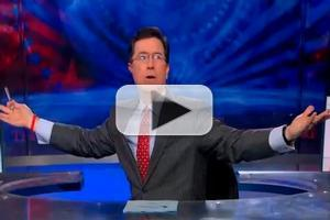 VIDEO: Bush Family E-Mail Hack on Last Night's COLBERT REPORT