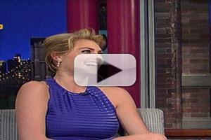 VIDEO: Kate Upton Talks Frigid SI Photo Shoot on DAVID LETTERMAN