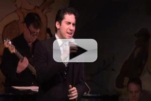 BWW TV: Chatting with John Lloyd Young at His Cafe Carlyle Debut - Plus Concert Highlights!