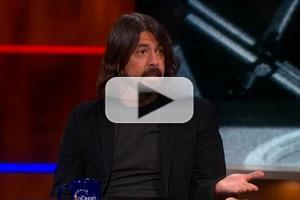 VIDEO: Rocker Dave Grohl Talks 'Sound City' Documentary on COLBERT