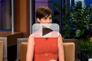 VIDEO: Anne Hathaway Chats BAFTA Award on JAY LENO