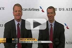 VIDEO: American Airlines CEO Talks Merger on CBS THIS MORNING
