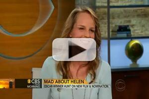 VIDEO: Helen Hunt Discusses Oscar Nom On CBS THIS MORNING