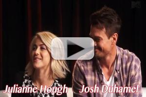 VIDEO: Julianne Hough, Josh Duhamel Chat SAFE HAVEN on MTV