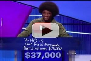 VIDEO: JEOPARDY! Teen Champion Gives Shocking Final Jeopardy Answer