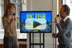 STAGE TUBE: Norbert Leo Butz & Kate Baldwin Sing 'Time Stops' from BIG FISH!
