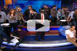 VIDEO: Jon Stewart, Stephen Colbert Take On the 'Harlem Shake'!