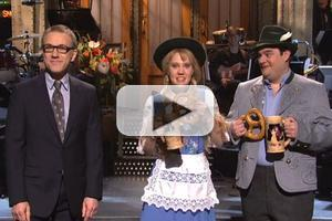 VIDEO: Christoph Waltz's SNL Opening Monologue