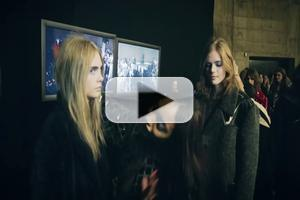 VIDEO: The 'Harlem Shake' Backstage at Topshop Unique AW13