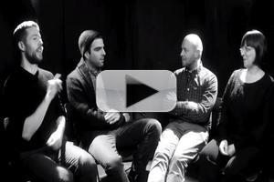 STAGE TUBE: First Look at Zachary Quinto in ASL Interviews of THE GLASS MENAGERIE