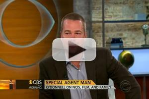 VIDEO: NCIS Star Chris O'Donnell Visits CBS THIS MORNING