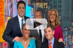 VIDEO: Robin Roberts Returns to GOOD MORNING AMERICA!