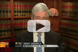 VIDEO: Newt Gingrich Talks Health Care on CBS THIS MORNING