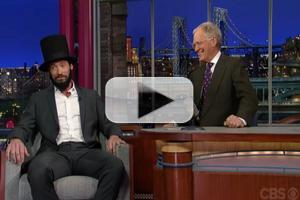 VIDEO: Hugh Jackman Gives His Best LINCOLN on Tonight's LETTERMAN