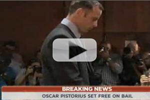 VIDEO: BREAKING: Olympian Oscar Pistorius Set Free on Bail