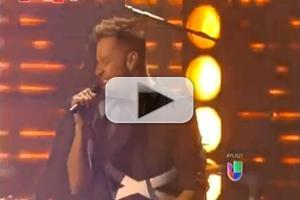 VIDEO: Ricky Martin & Draco Perform MAS Y MAS at Premio Lo Nuestro 2013