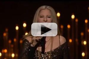 STAGE TUBE: Barbra Streisand Performs 'The Way We Were' at The Oscars!