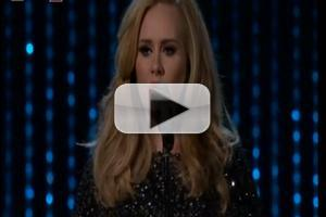 VIDEO: Adele Performs SKYFALL at The Oscars