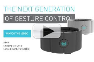 VIDEO: MYO Announces Digital Armband to Control Macs, PCs and More!