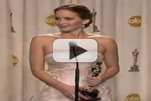 VIDEO: Jennifer Lawrence's Hilarious OSCAR Press Conference!