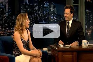 STAGE TUBE: Scarlett Johansson Talks CAT ON A HOT TIN ROOF on LATE NIGHT!
