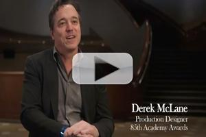 VIDEO: Behind the Scenes with 2013 Oscars Set Designer Derek McLane!