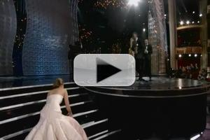 VIDEO: CONAN Reveals What Really Made Jennifer Lawrence Fall at the Oscars