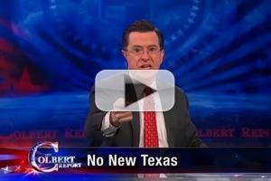 VIDEO: Asteroid Paths Tracked on THE COLBERT REPORT on Comedy Central